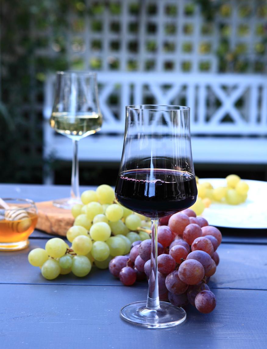 w czym podawać wino czerwone