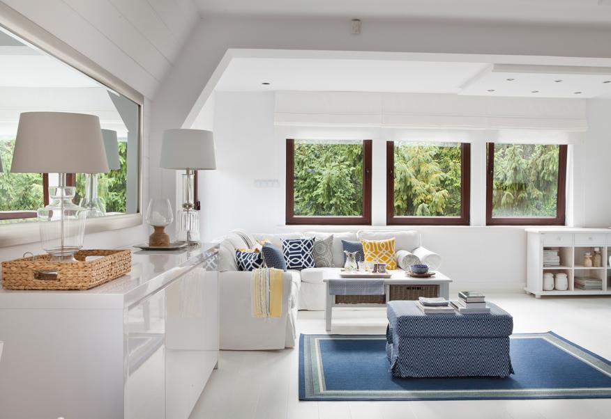 odpowiednim kolorem dywanu możemy kształtować charakter pomieszczenia