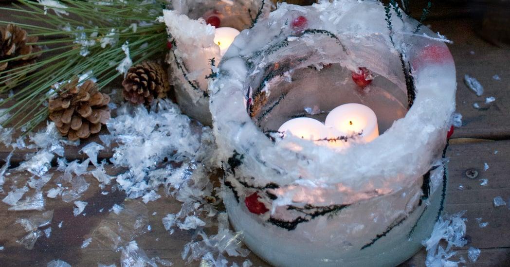 swiecznik-z-lodu-ice-lantern-diy