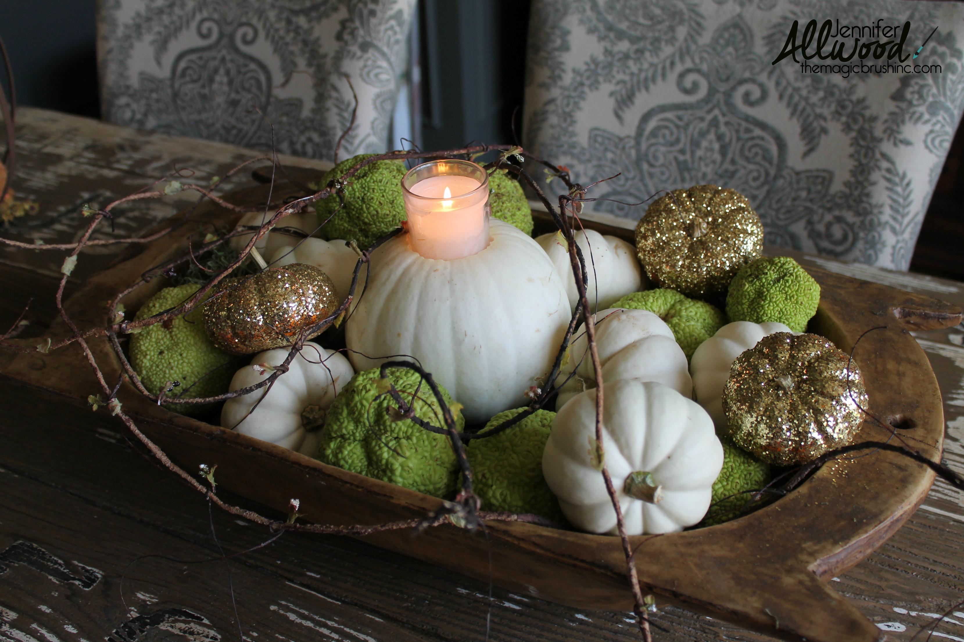 świecznik-ozdoba-z-dyni-brokat-pumpkin-decoration