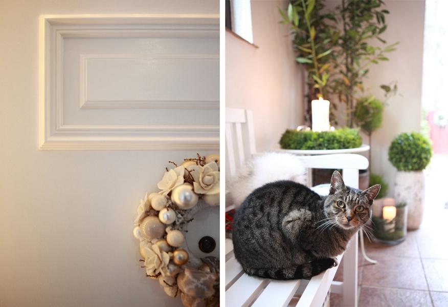 Za pomocą paneli dekoracyjnych można odmienić każde, nawet stare drzwi.