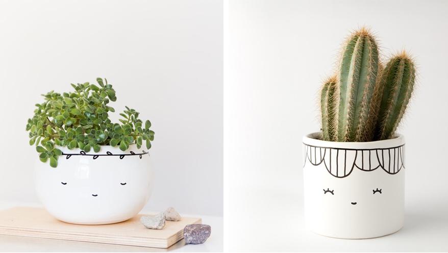 Pomysły na ciekawe prezenty dla kobiet - doniczki i ceramika