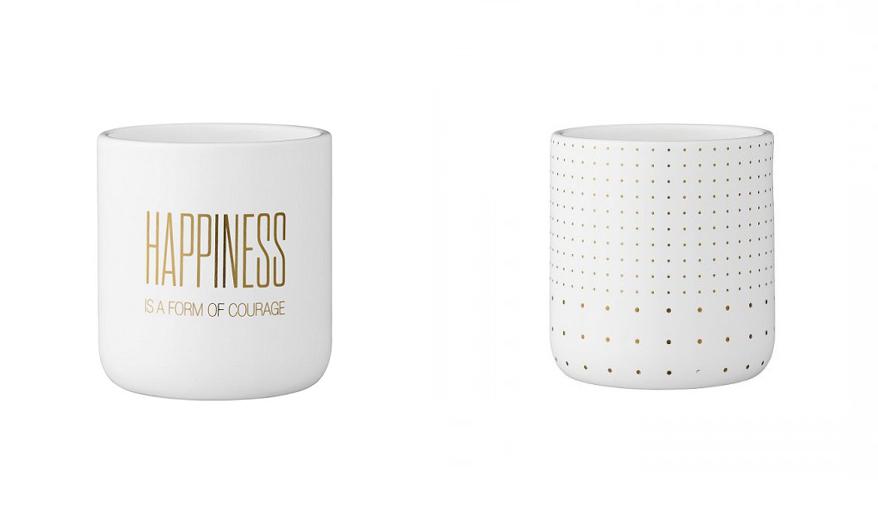 Pomysły na prezenty dla kobiety - doniczki ceramiczne
