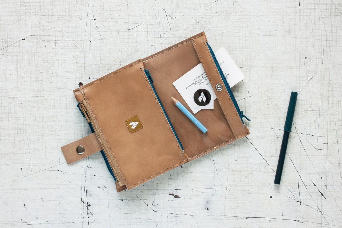 Prezent dla kobiety - skórzany portfel