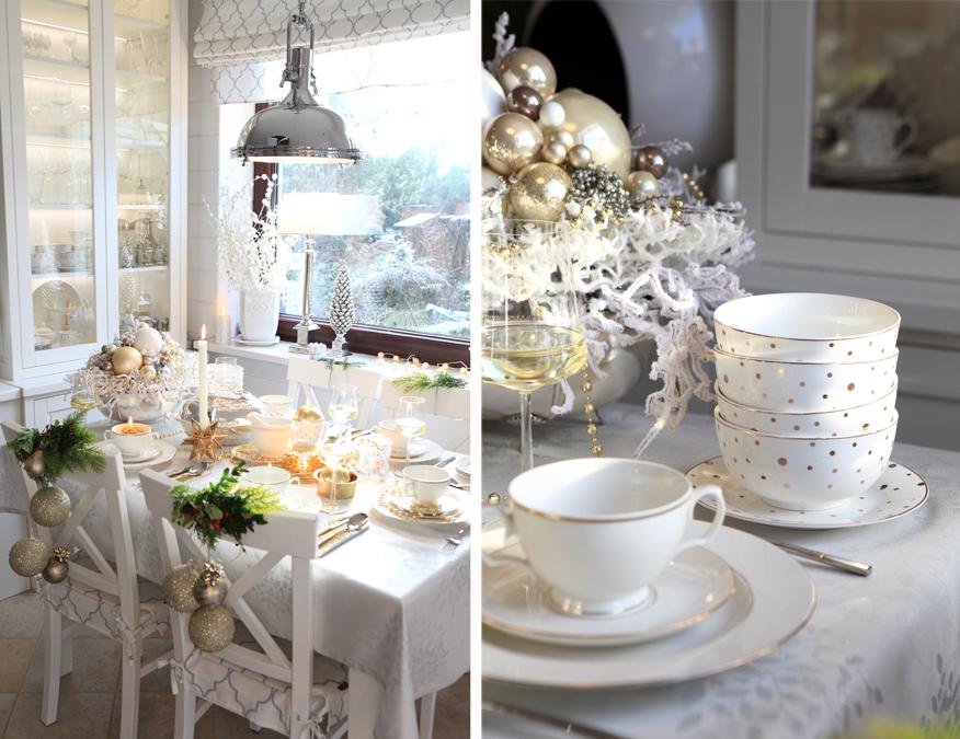 stol-wigilijny-bialo-zlota-porcelana