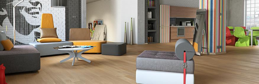 Panele drewniane w domu - Drewniana podłoga - rodzaje