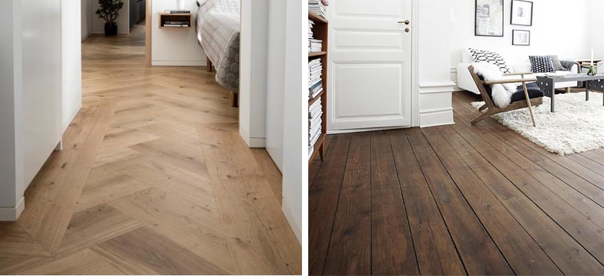Deska drewniana na podłogę - drewniana podłoga