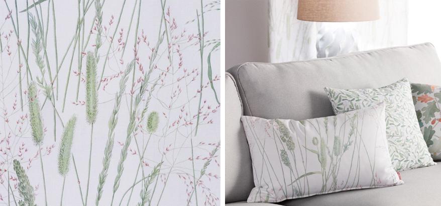 wiosenne tkaniny norge dekoria - dodatki na wiosnę