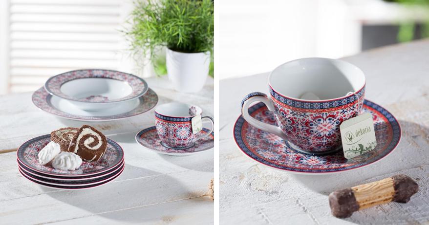 ceramika marrakesh dekoria na wiosnę