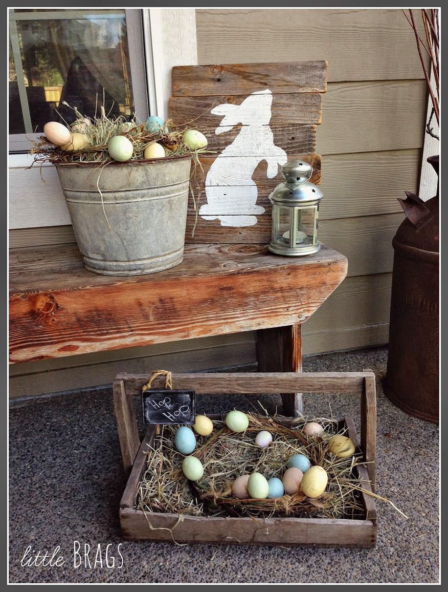 Wielkanocna dekoracja ogrodu