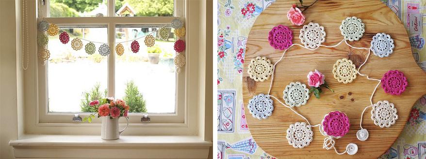 Wiosenna dekoracja okna