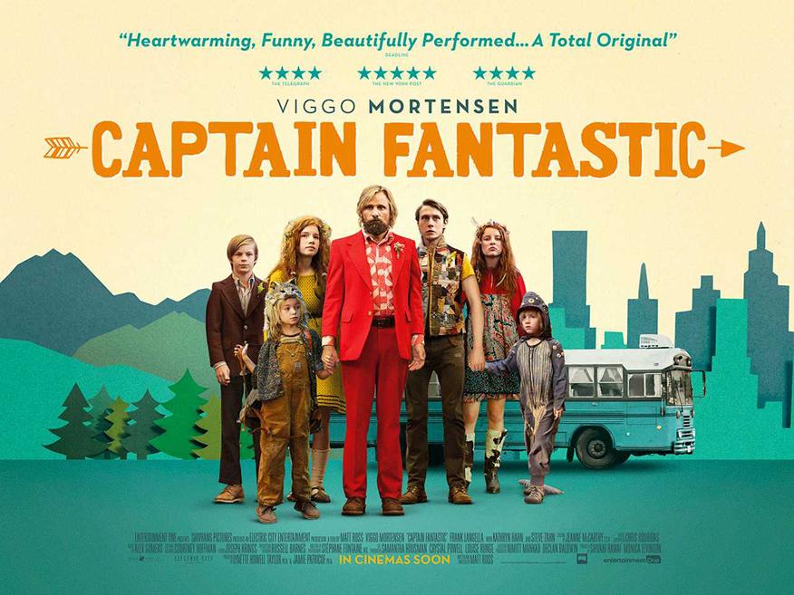 Captain fantastic recenzja