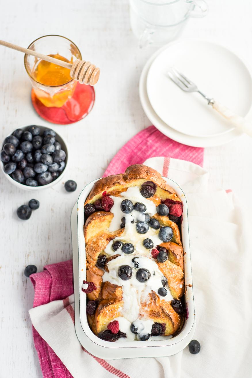 wiosenne sniadania - tosty francuskie z owocami