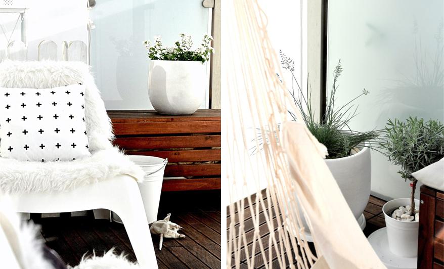 Jak urządzić balkon w stylu skandynawskim