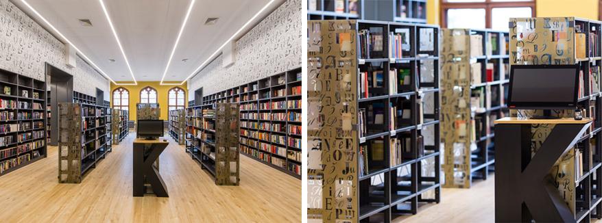 Biblioteka na dworcu pkp we wrocławiu