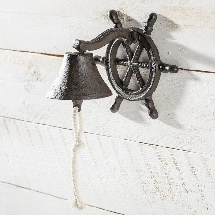Dzwonek w stylu marynistycznym z kotwicą