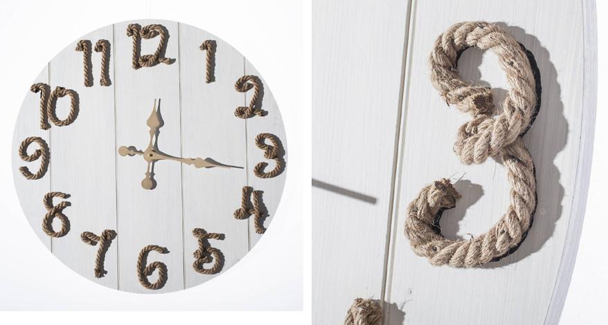 Zegar w stylu marynistycznym