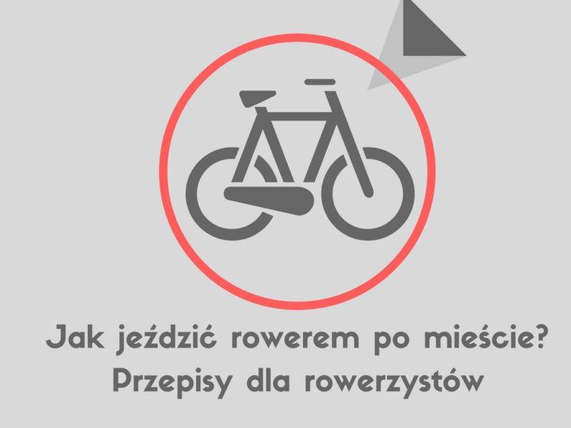 zasady jazdy na rowerze po mieście