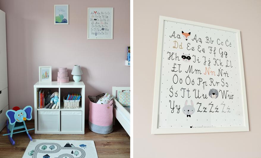 Dekoracje w pokoju dziecka