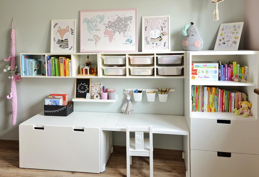 organizacja w pokoju dziecka