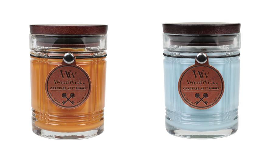 świece woodwick o zapachu skóry