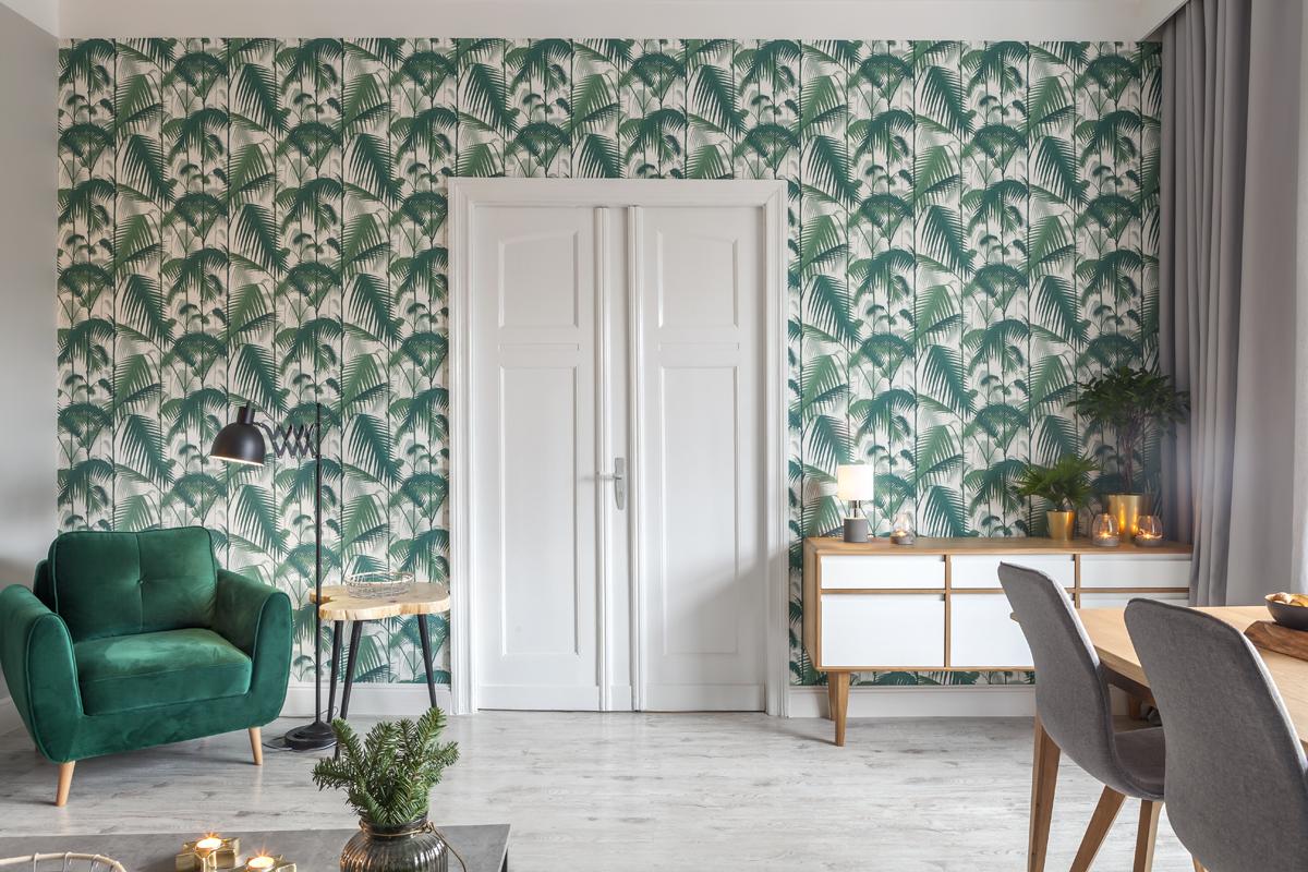 metamorfoza salonu w stylu skandynawskim i urban jungle