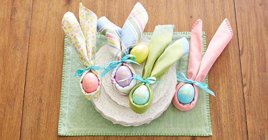 Wielkanocne dekoracje pastelowe Green Canoe