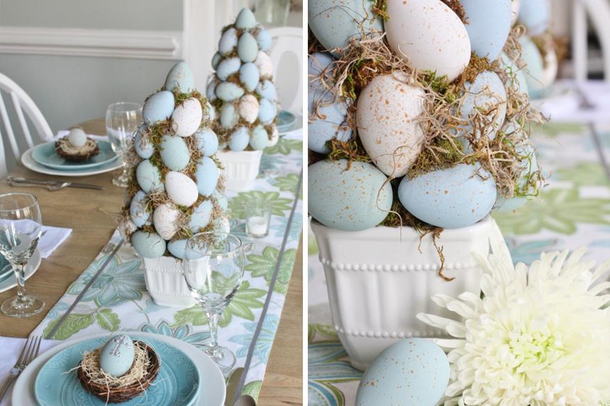 Wielkanocne dekoracje do eleganckich wnętrz Green Canoe