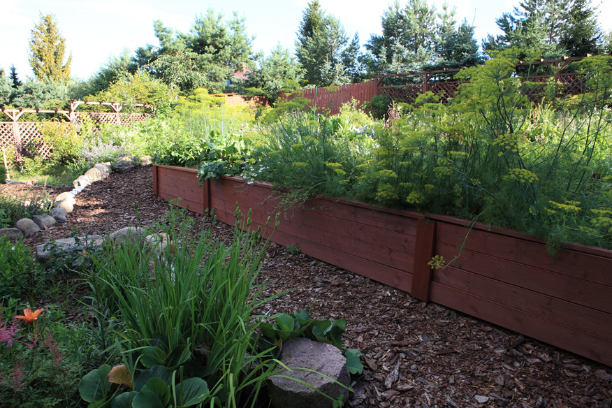 letni ogród Green Canoe