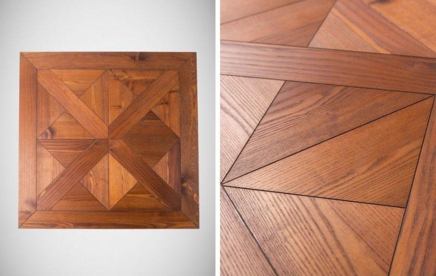 BM Wood stół kwadrat sklejka