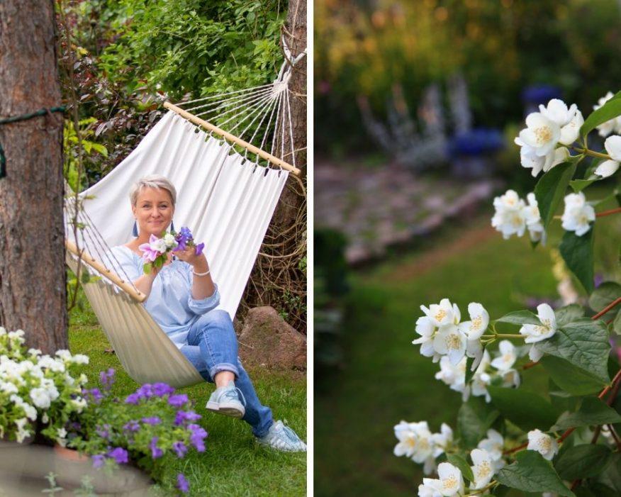 relaks w ogrodzie GREEN CANOE