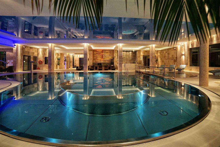 hotel białowieski green canoe basen relaks