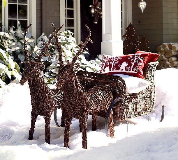 Najnowsze DEKORACJE BOŻONARODZENIOWE - ozdoby świąteczne na drzwi i przy EH49
