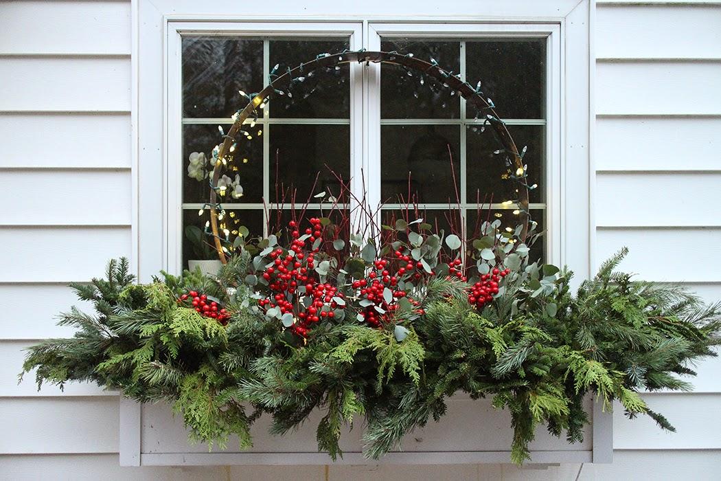 Świeże Ozdabiamy dom na święta - dekoracje świąteczne na zewnątrz - GREEN KE44