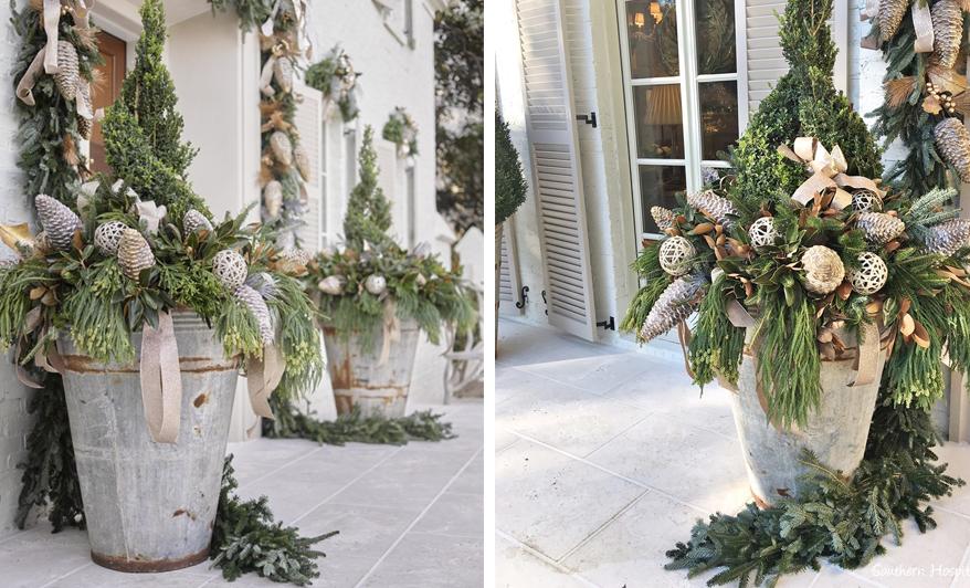 Bardzo dobryFantastyczny Ozdabiamy dom na święta - dekoracje świąteczne na zewnątrz - GREEN PN47